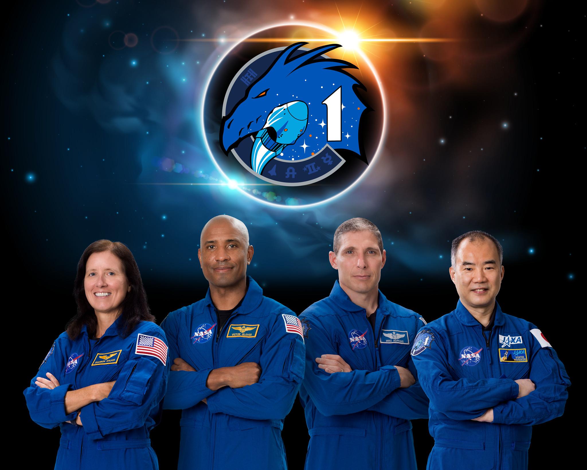 NASA kviečia stebėti pirmosios JAV komercinio erdvėlaivio įgulos skrydį Į Tarptautinę kosminę stotį