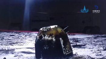 """Nusileidimo aparatas """"Chang'e 5 sugrįžo į Žemę!"""