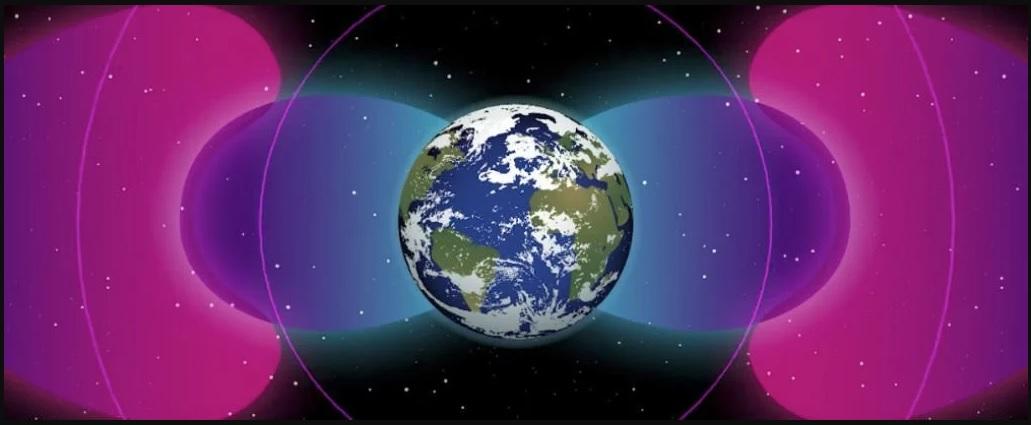 Kosminėje erdvėje yra žmogaus sukurtas barjeras supantis visą Žemę