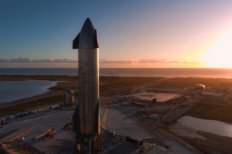 Starship prototipo skrydis gruodžio 10 d.