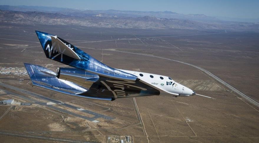 """Nutrauktas """"SpaceShipTwo"""" suborbitinis kosminis skrydis"""
