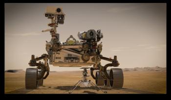 Gyvybės ženklų Vasario 18 d. Marso planetoje beieškant...