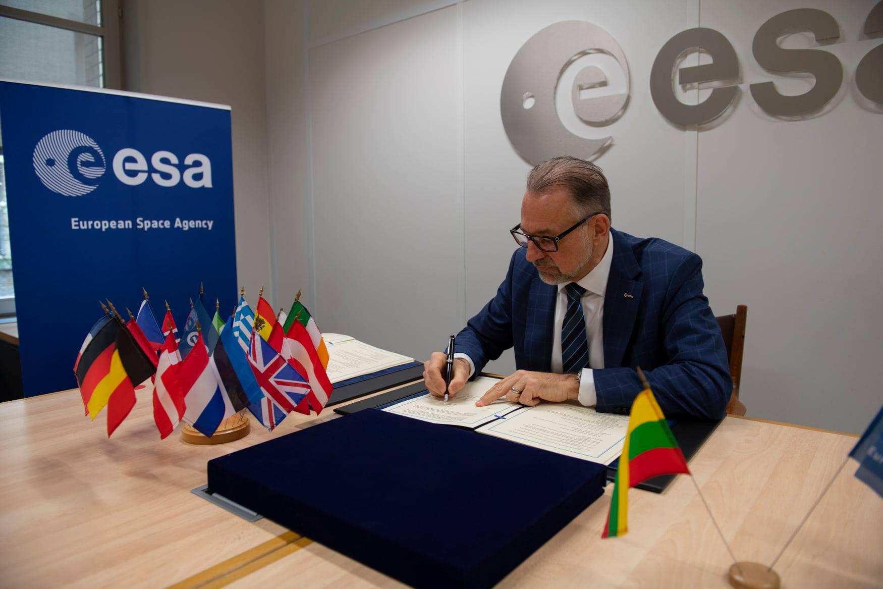 Džiugi naujiena - Lietuva tampa asocijuota Europos kosmoso agentūros nare