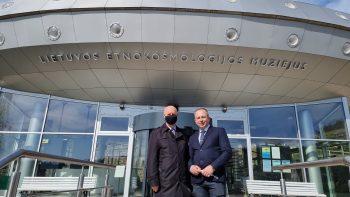 Muziejuje lankėsi Rusijos federacijos Ambasadorius