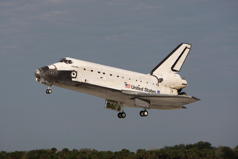 40 metų Space shuttle skrydžiui