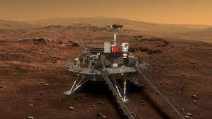 """""""Tianwen-1"""" (pirmoji Kinijos Marso tyrinėjimo misija)"""